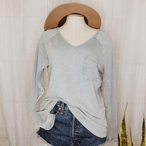 • ROXY • NWT light blue long sleeve top